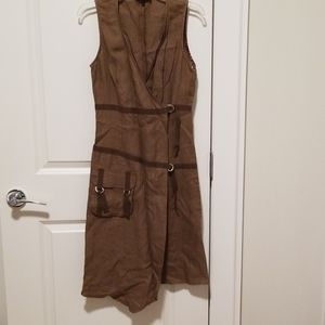 One of a kind vest dress